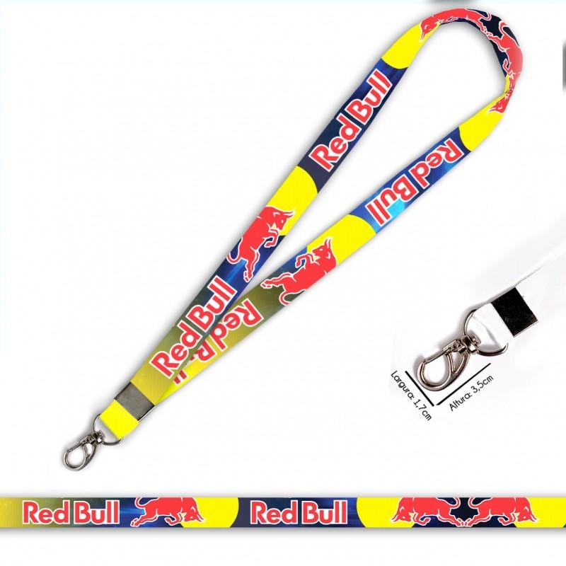 Cordão Red Bull Racing C0536P com Mosquetão