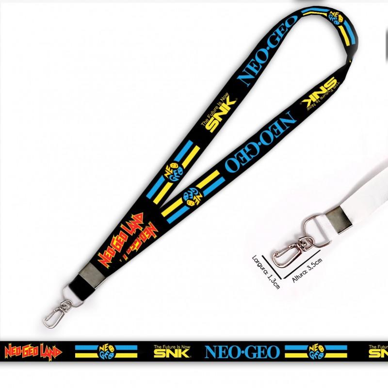 Cordão Neo Geo The Future SNK C0549P com Mosquete Retrô
