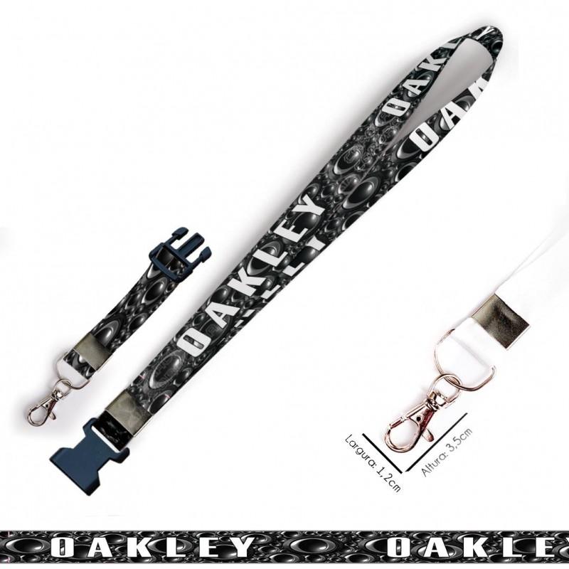 Chaveiro oakley C0550P com Mosquete e Engate Rápido