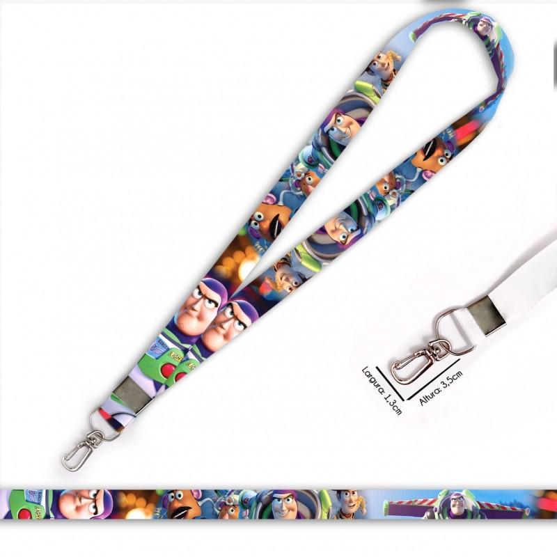 Cordão Buzz Lightyear Toy Story C0569P com Mosquete Retrô