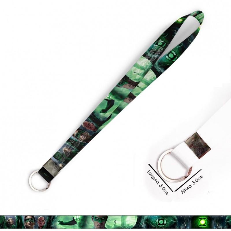 Cordão Lanterna Verde C0621P com Argola Italiana