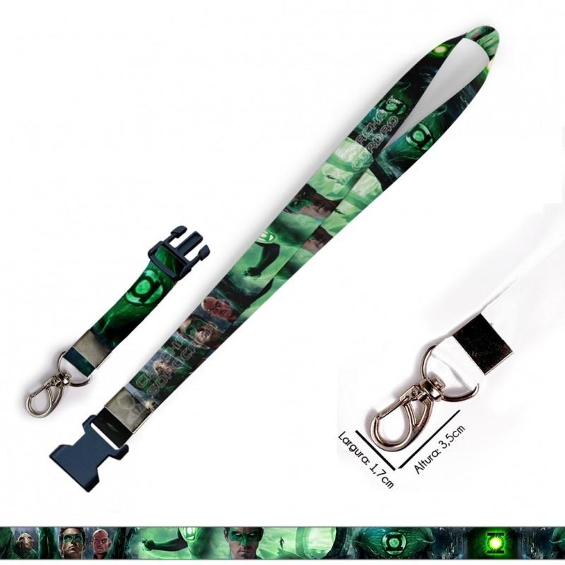 Chaveiro Lanterna Verde C0621P com Mosquetão e Engate Rápido