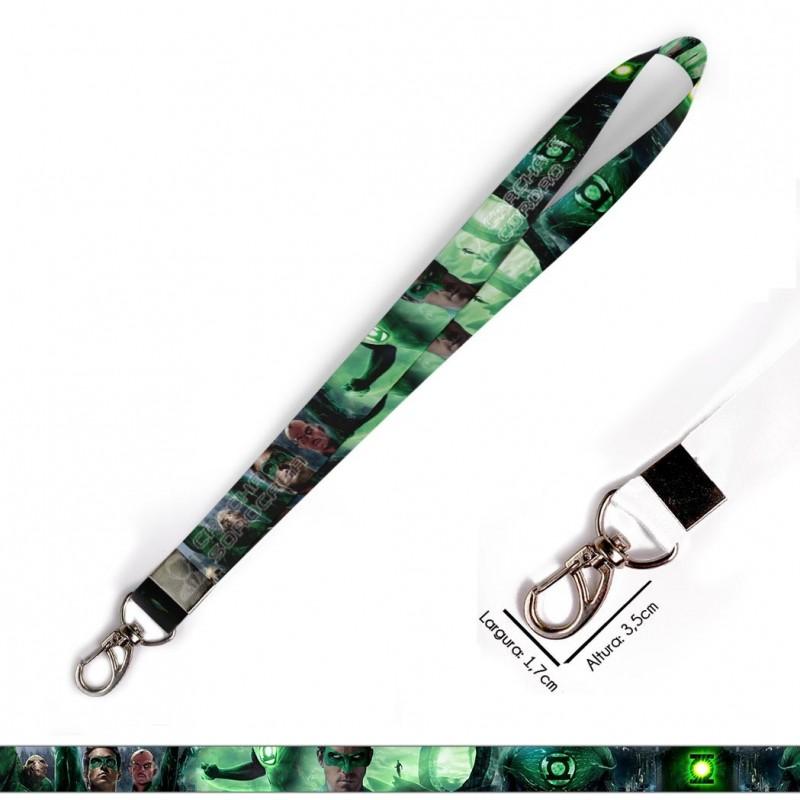 Cordão Lanterna Verde C0621P com Mosquetão