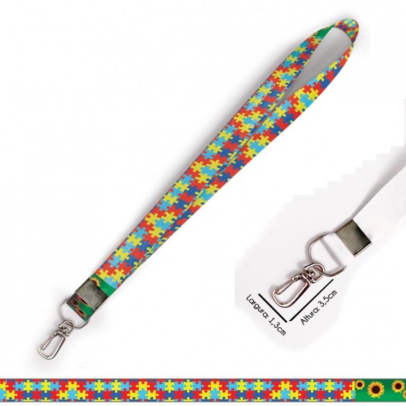 Cordão Quebra Cabeças e Girassol C0622P com Mosquete Retrô