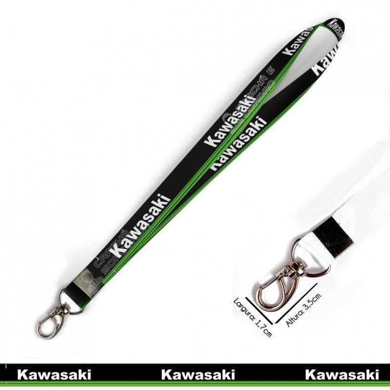 Cordão KAWASAKI MOTOS C0635P com Mosquetão