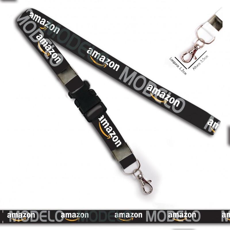 Chaveiro Amazon C0641P com Mosquete e Engate Rápido