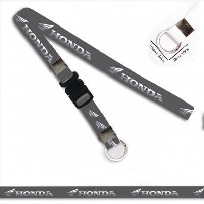 Chaveiro para Moto HONDA CINZA C0720P Argola Italiana Engate