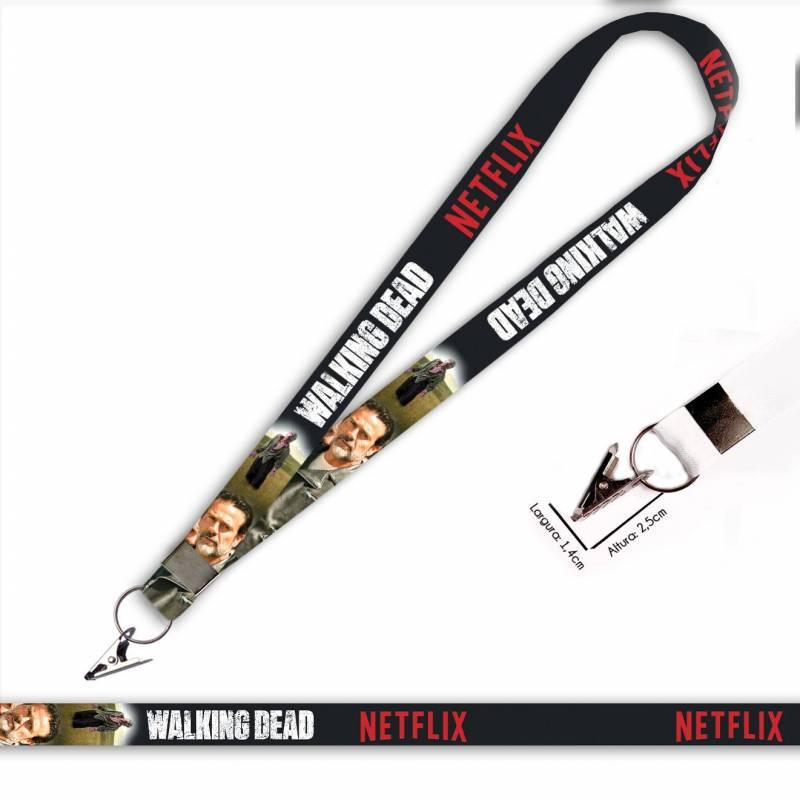 Walking Dead Negan C0088P Cordão com Jacaré