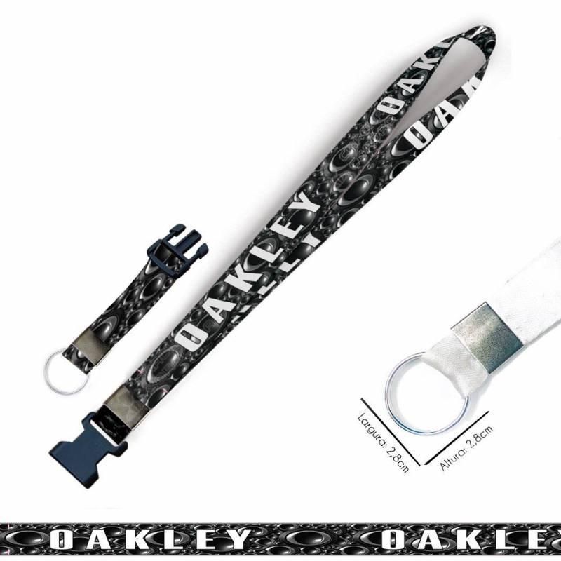 oakley C0550P Cordão, Chaveiro Moto com Argola e Engate