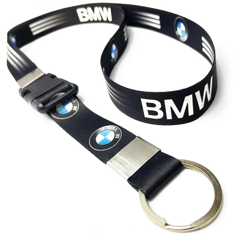 BMW Motors C0488P Cordão, Chaveiro Moto com Argola e Engate