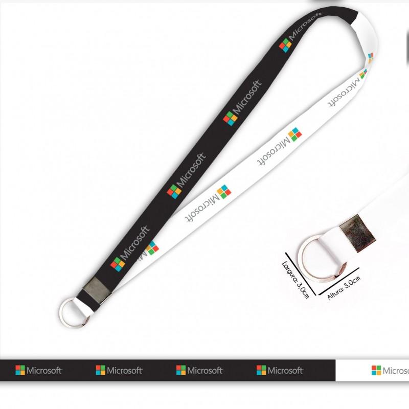 Cordão Microsoft C0045P com Argola Italiana