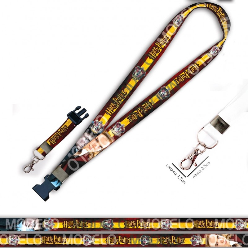 Chaveiro Harry Potter Harry Hermione C0051P Mosquete Engate