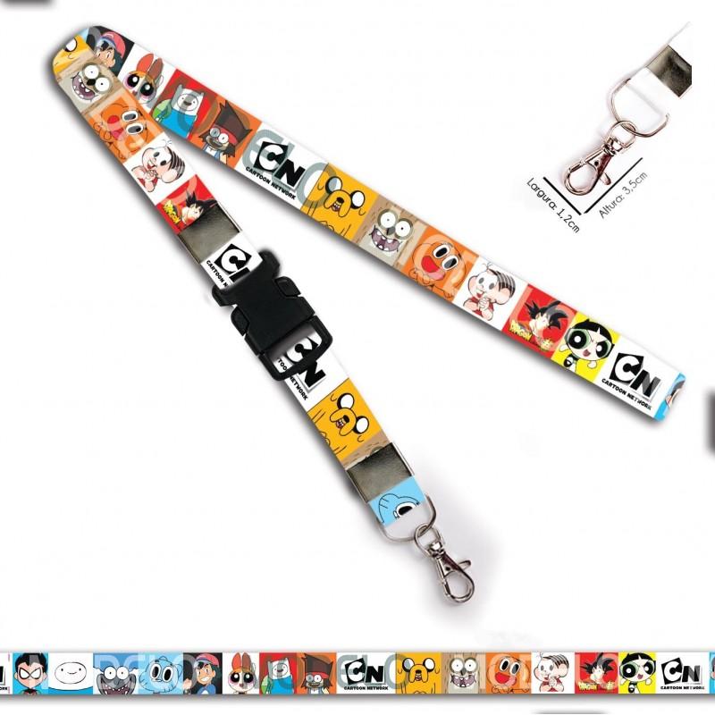 Chaveiro Cartoon Networks C0086P com Mosquete e Engate