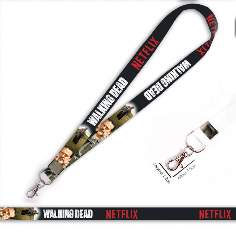 Cordão Walking Dead Negan C0088P com Mosquete