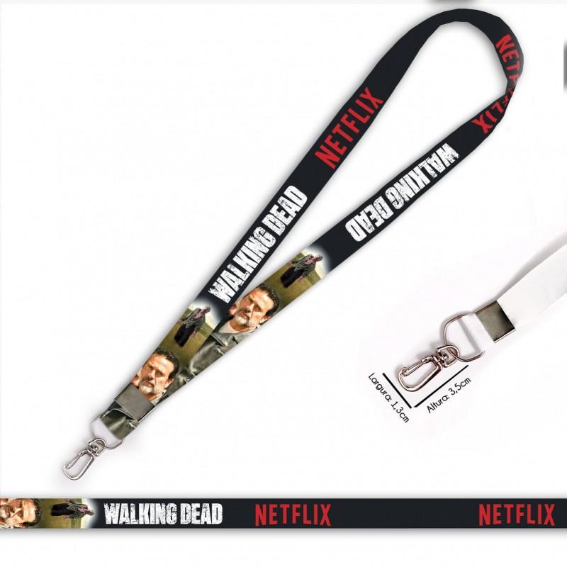 Cordão Walking Dead Negan C0088P com Mosquete Retrô