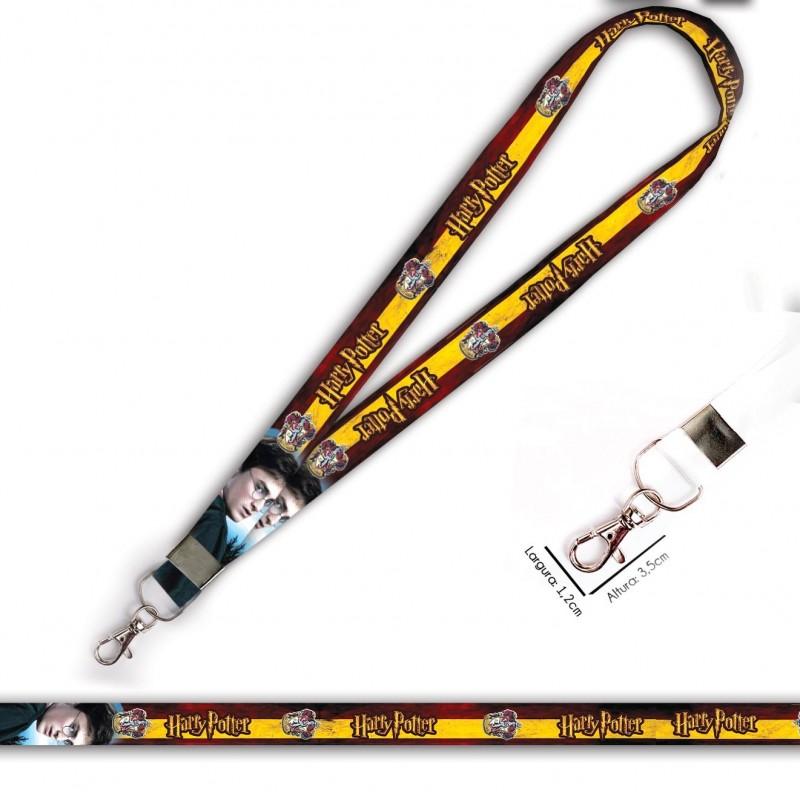 Cordão Harry Potter Grifinoria C0105P com Mosquete