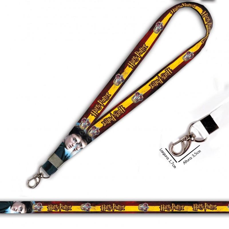 Cordão Harry Potter Grifinoria C0105P com Mosquetão