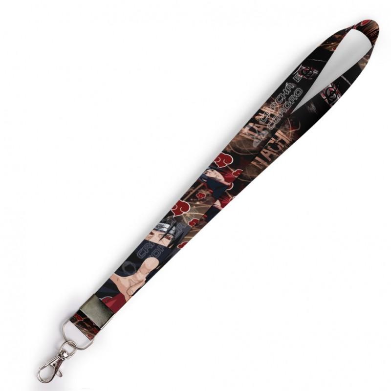 Cordão Itachi Uchiha Naruto C0113P com Mosquete