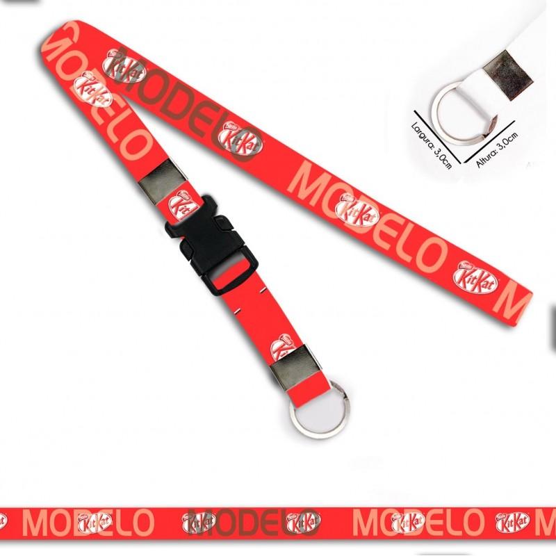Chaveiro para Moto KitKat C0379P Argola Italiana e Engate